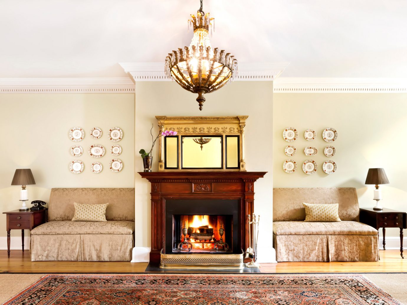 Elegant Fireplace Hotels Inn Lobby Lounge Trip Ideas indoor Living wall floor fire room living room hearth home hardwood furniture interior design lighting wood ceiling dining room Design wood flooring estate decorated