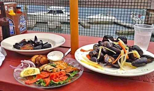 Road Trips Trip Ideas food table plate dish meal Drink cuisine mussel Seafood