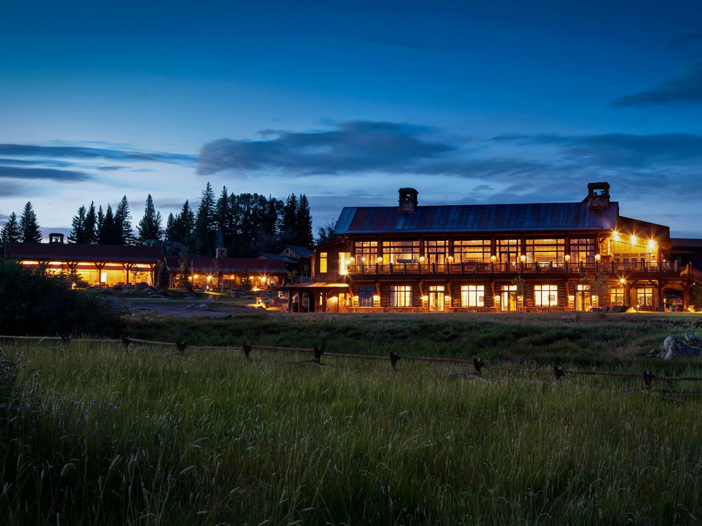 Cabin calm dusk Exterior Forest isolation Lodge log cabin Luxury Nature night night lights Outdoors remote Rustic serene trees Trip Ideas woods outdoor sky grass landmark horizon reflection evening morning Sunset cloud landscape rural area cityscape dawn panorama distance