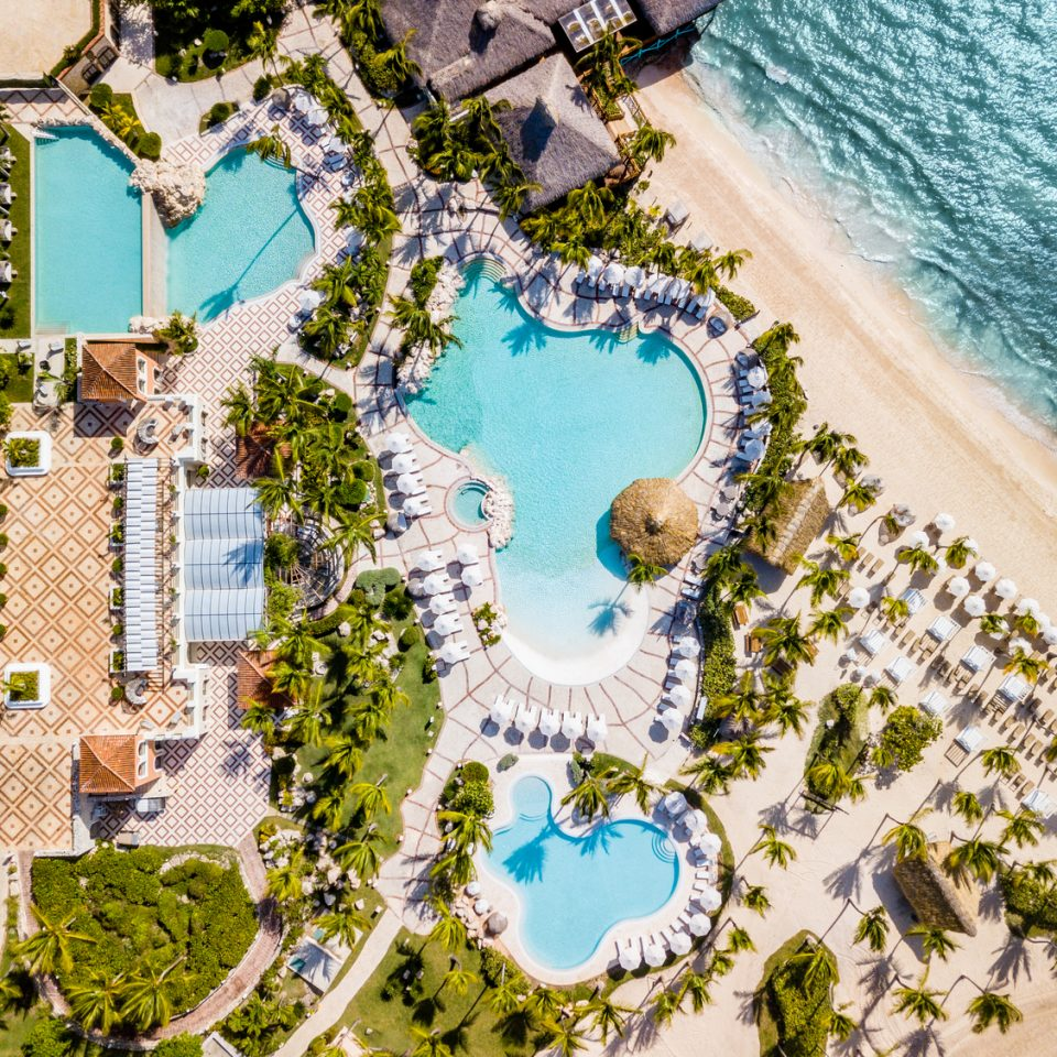 overhead view of Sanctuary Cap Cana
