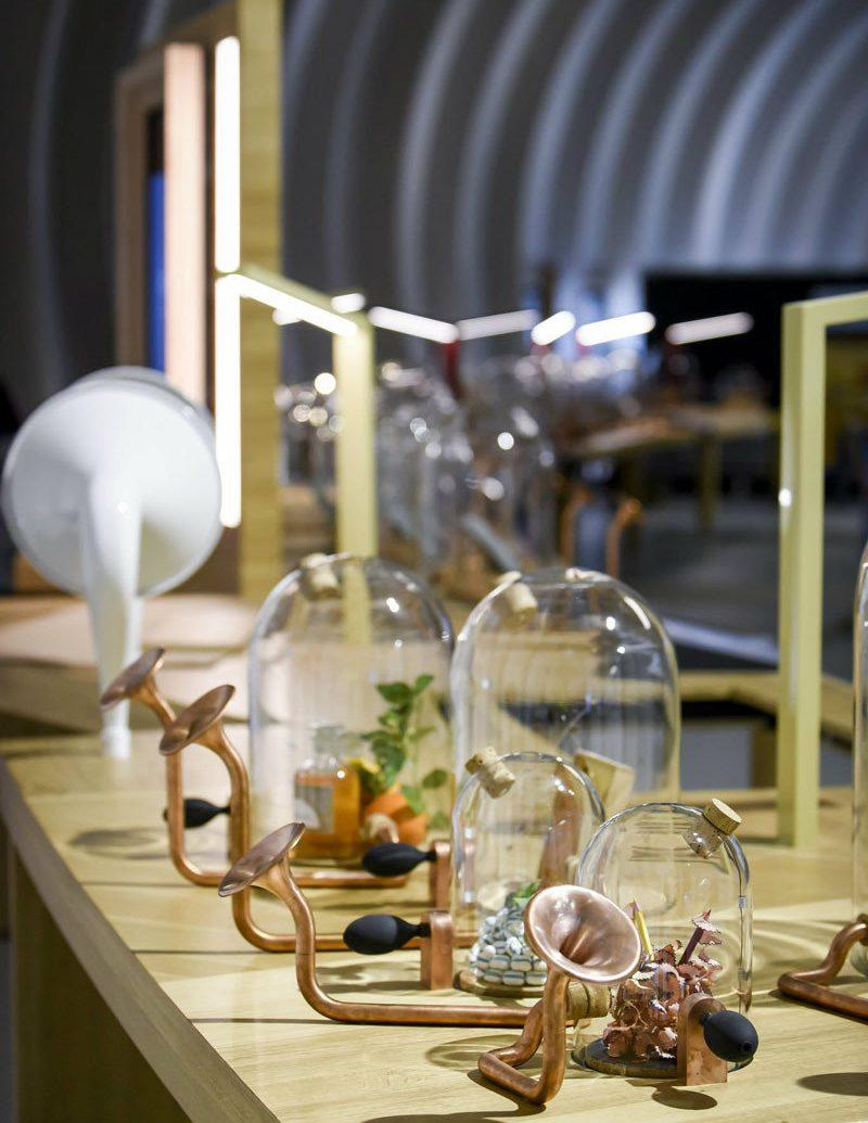 Arts + Culture indoor room meal restaurant lighting interior design table Design dining table
