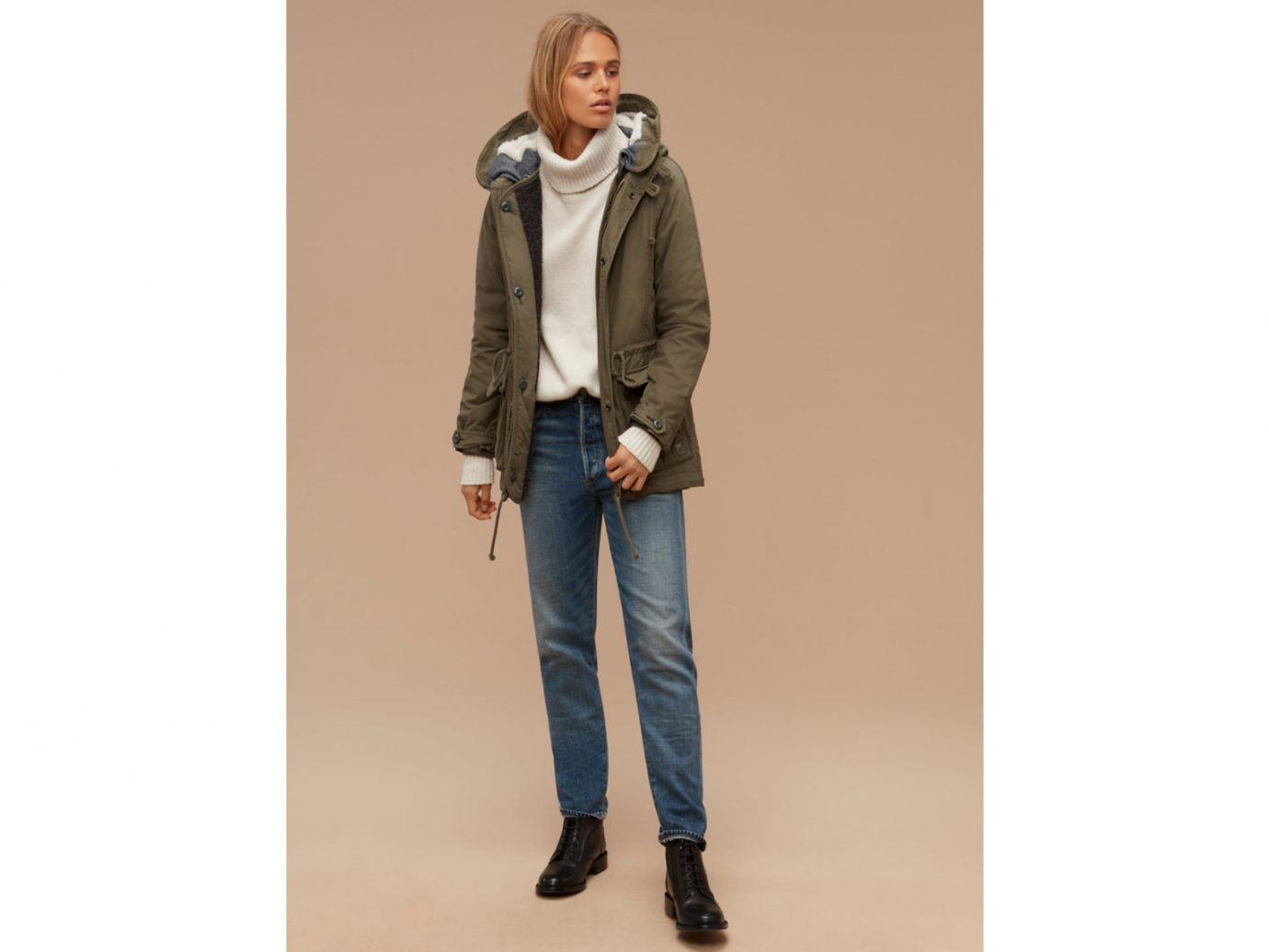 Style + Design standing clothing suit jacket jeans denim outerwear sleeve leather blazer posing coat textile pocket pattern trouser
