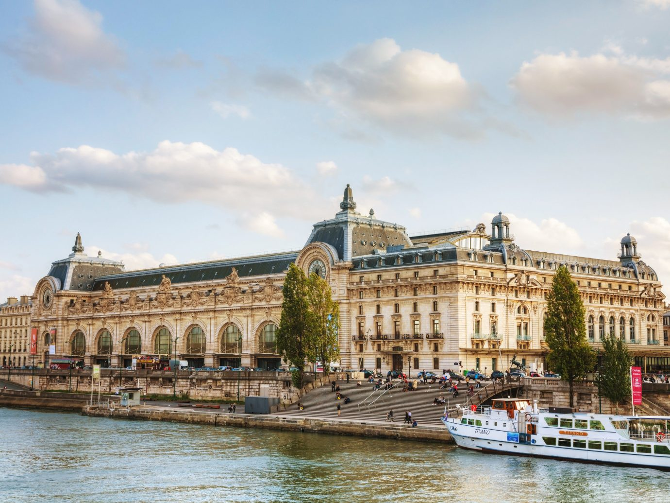 Exterior of Musee d'Orsay