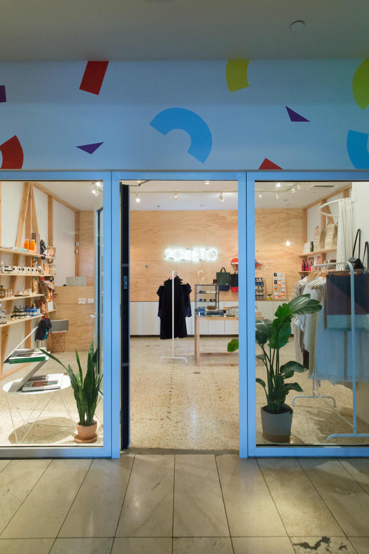 Hotels indoor interior design Lobby retail Design Boutique window covering