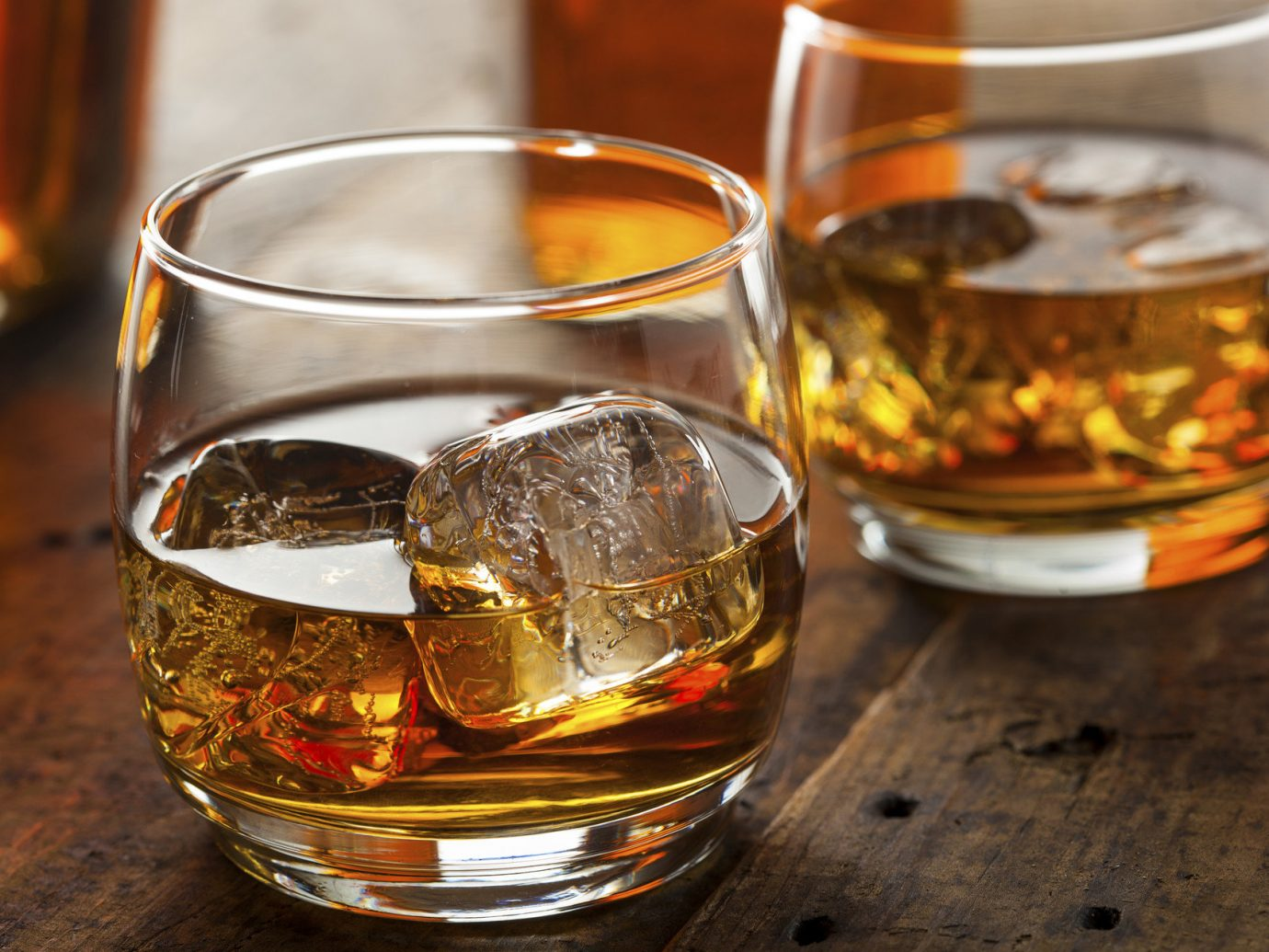 Food + Drink table cup container distilled beverage Drink alcoholic beverage glass sazerac whisky alcohol negroni old fashioned