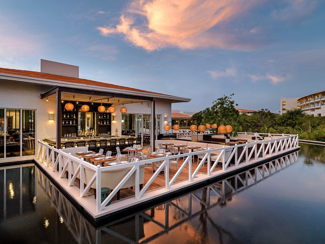 Boutique Hotels Hotels Luxury Travel sky outdoor water reflection scene pier real estate Resort home dock leisure evening estate marina