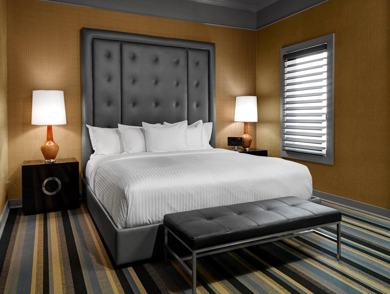Alberta Bedroom Boutique Hotels Canada Design Hotels Inn Living Modern indoor wall bed floor room interior design Suite white furniture bed frame living room hotel real estate pillow