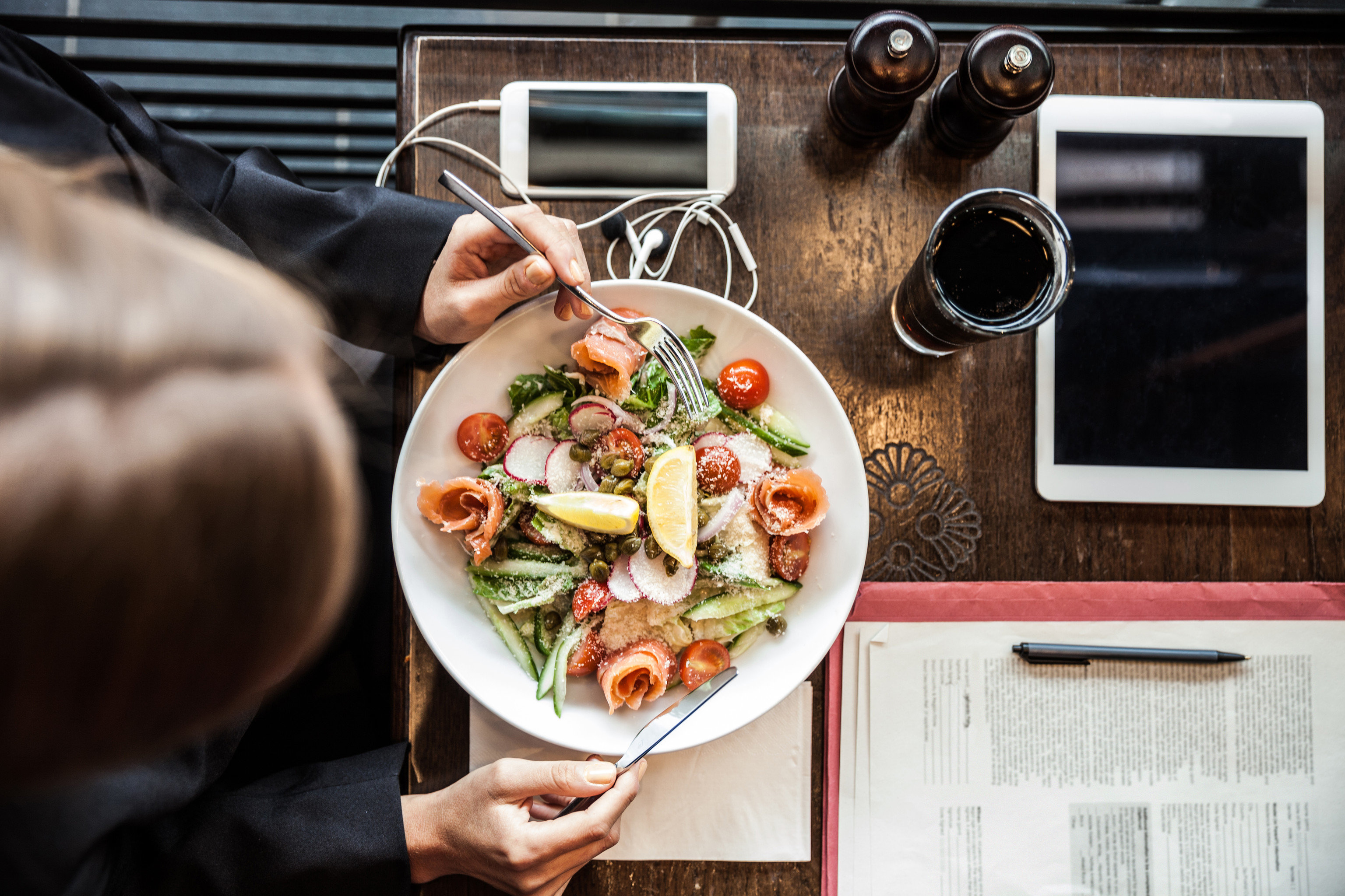 Food + Drink Offbeat Solo Travel person meal food dish lunch dinner sense restaurant brunch