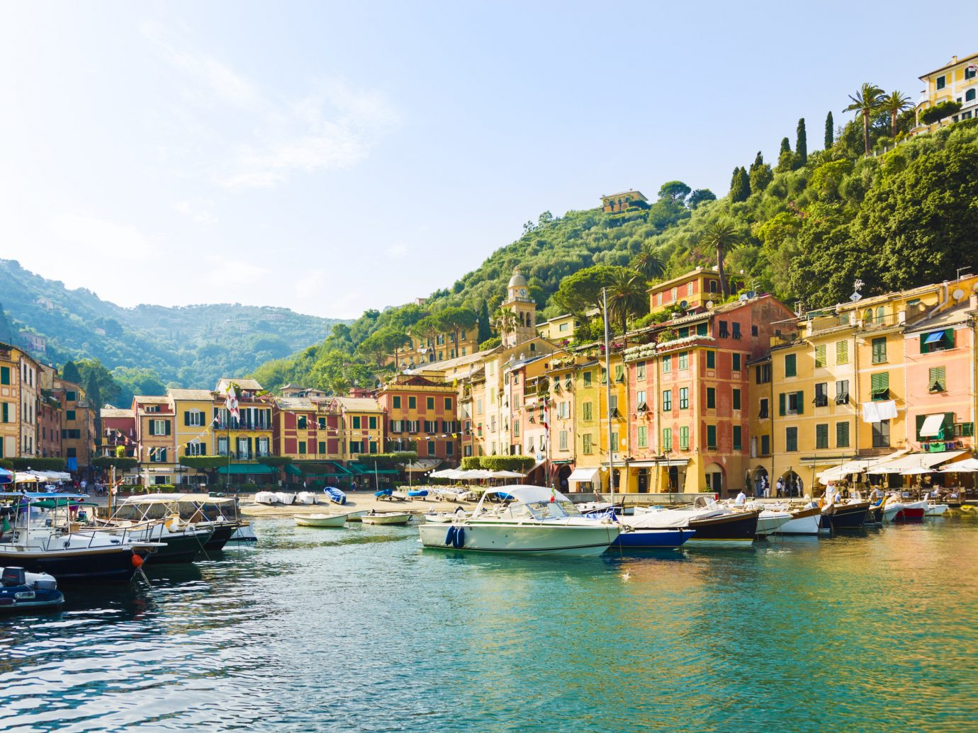 Italy Trip Ideas waterway water transportation water sky City reflection Harbor Town Canal marina tourism River Lake Boat Sea bay port channel Coast tree mountain