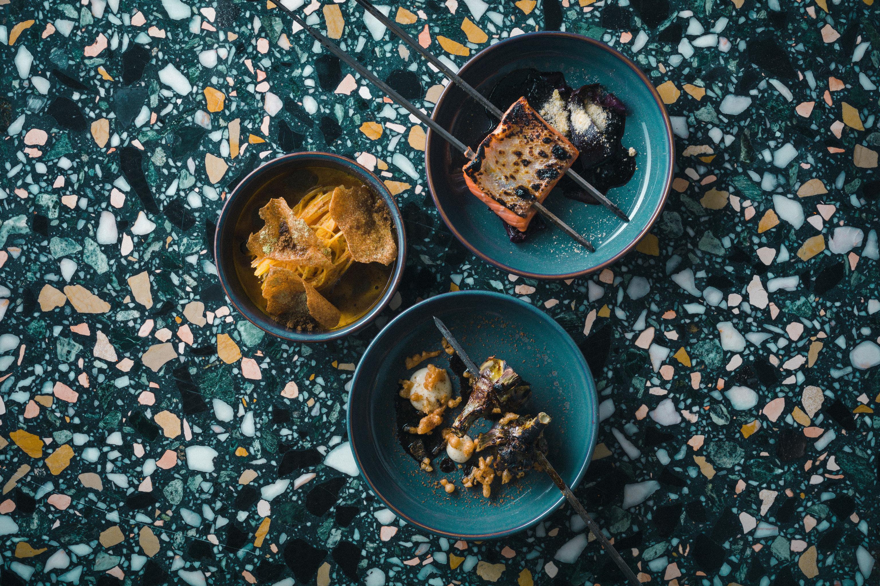 Trip Ideas blue leaf food flower meal several