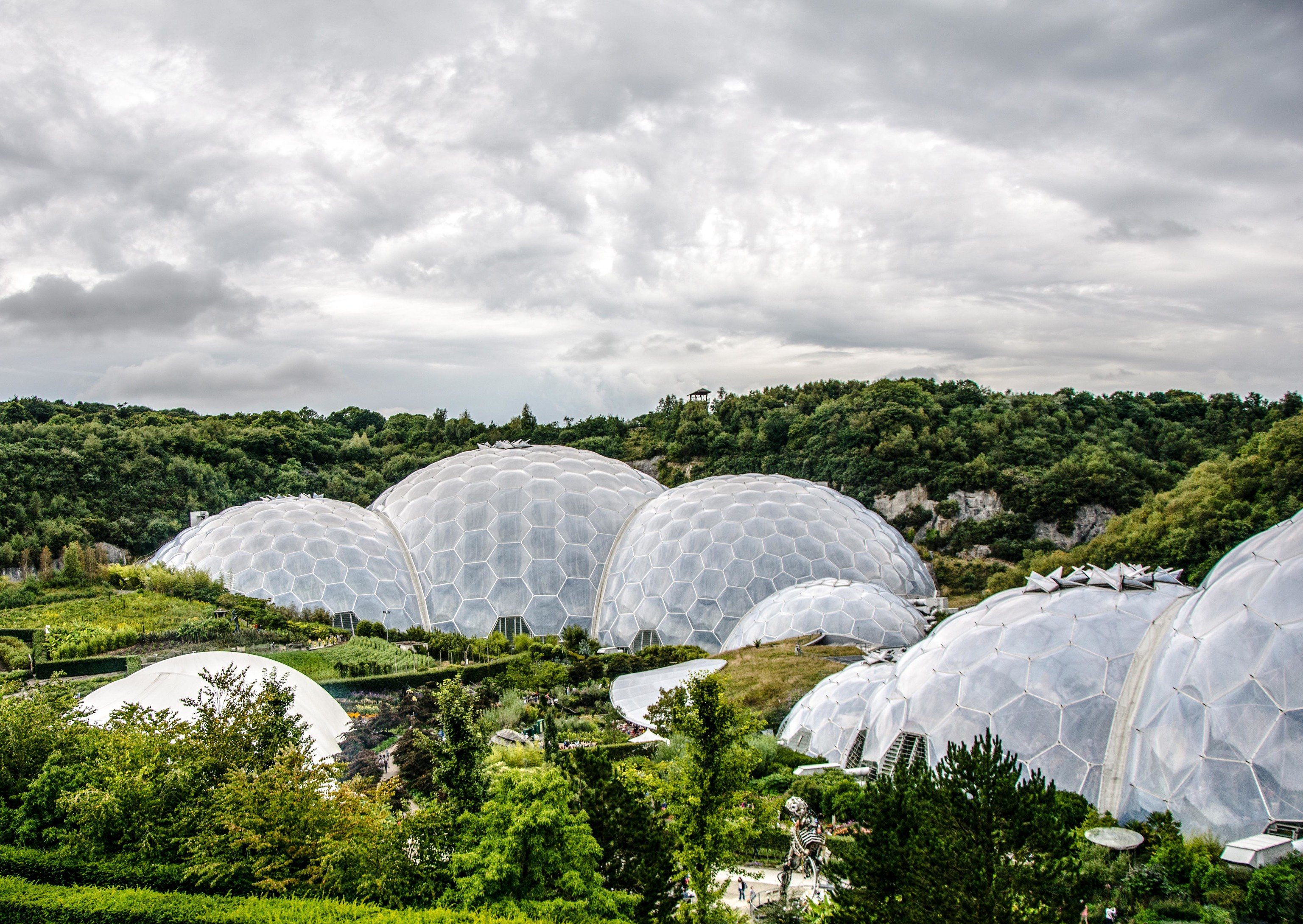 Trip Ideas building sky outdoor dome igloo Nature ecosystem daytime biome cloud tree grass landscape greenhouse plant water day