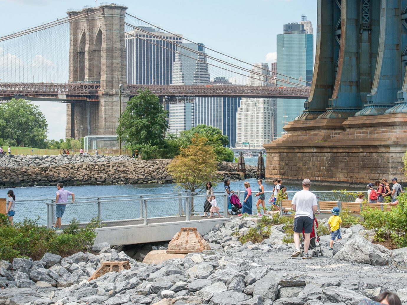 Trip Ideas outdoor sky building landmark vacation tourism people River bridge walkway waterway tours travel
