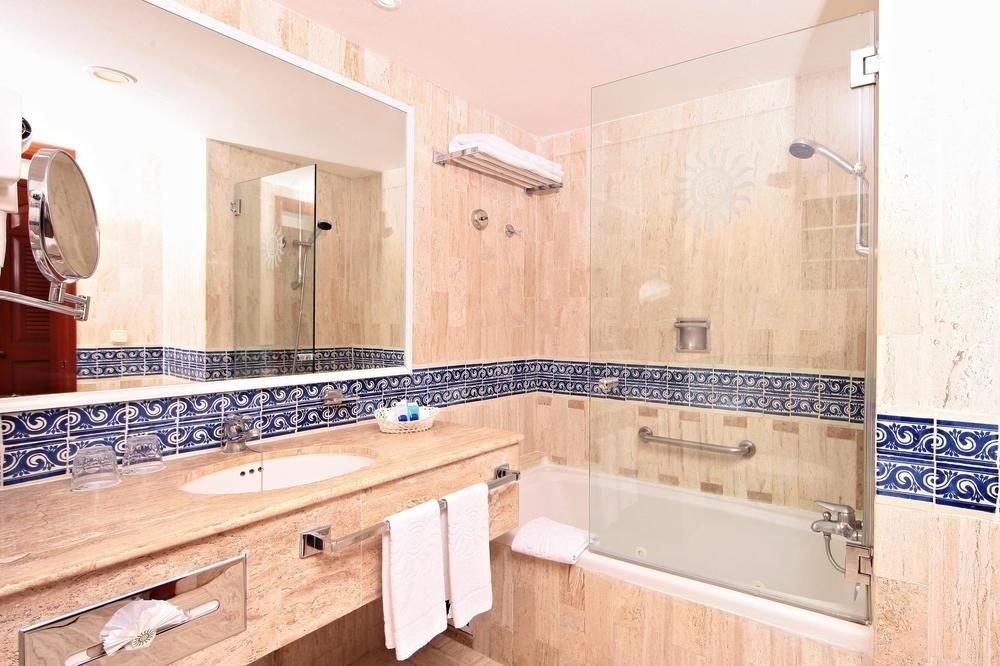 All-Inclusive Resorts Family Travel Hotels indoor wall room property bathroom tile floor countertop flooring interior design real estate home Kitchen estate