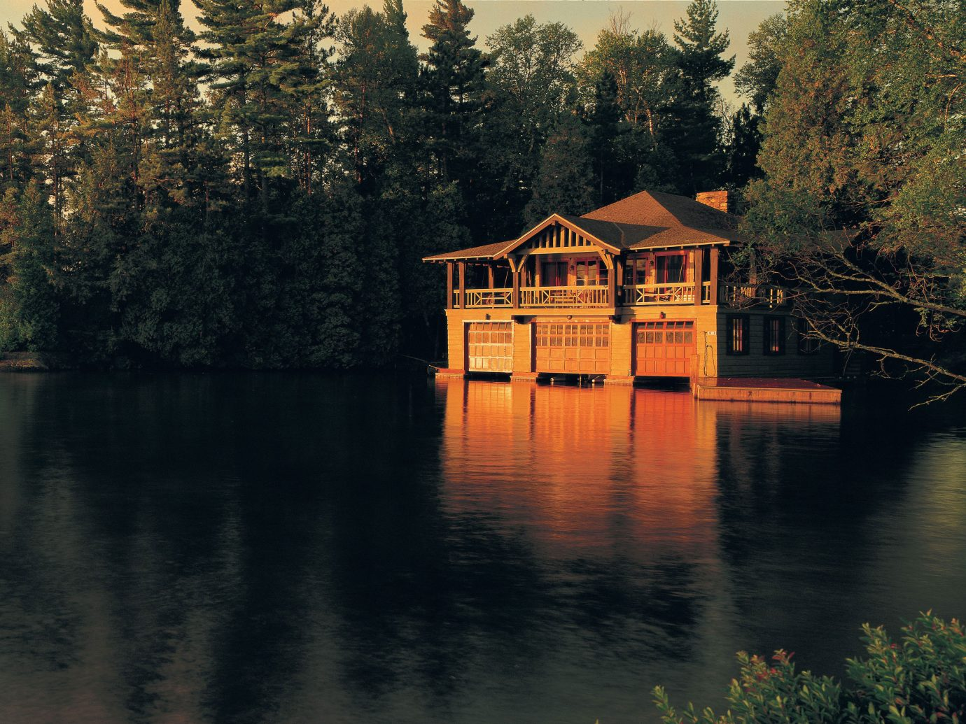 Trip Ideas tree water outdoor house reflection Nature Lake atmospheric phenomenon River night season autumn morning evening leaf bridge château waterway surrounded pond wooded several