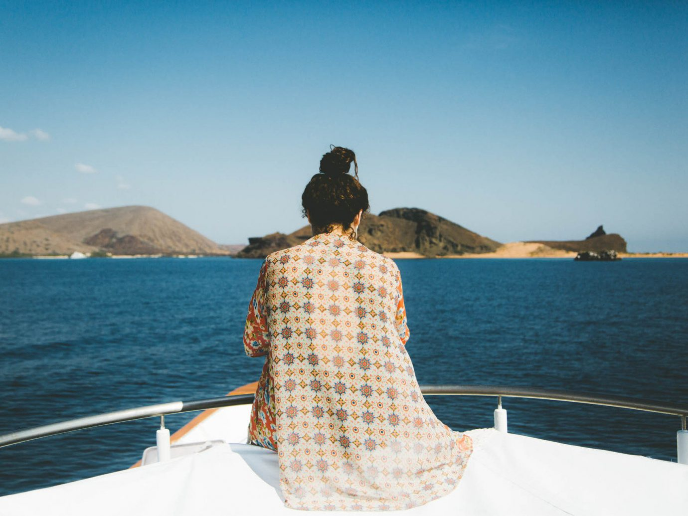 artistic artsy calm Hip Luxury Mountains Ocean people remote Rocks sand serene south america trendy Trip Ideas woman yacht sky water outdoor Sea vacation Boat vehicle Beach bay watercraft boating cape day