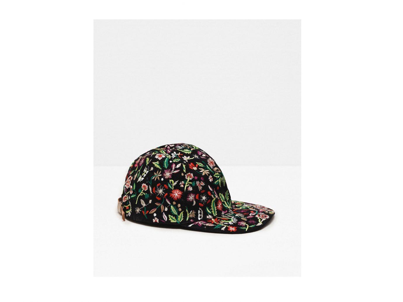 caa121b9880 Style + Design clothing footwear cap pink fashion accessory hairstyle  pattern shoe magenta Design hat headgear