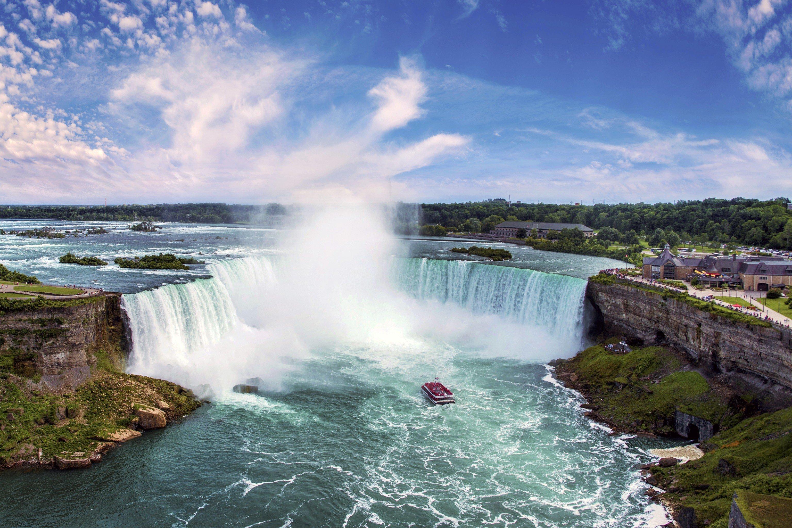 Hotels Trip Ideas Outdoor Water Sky Waterfall Body Of Nature Feature River Coast Sea 1 Marriott Niagara Falls
