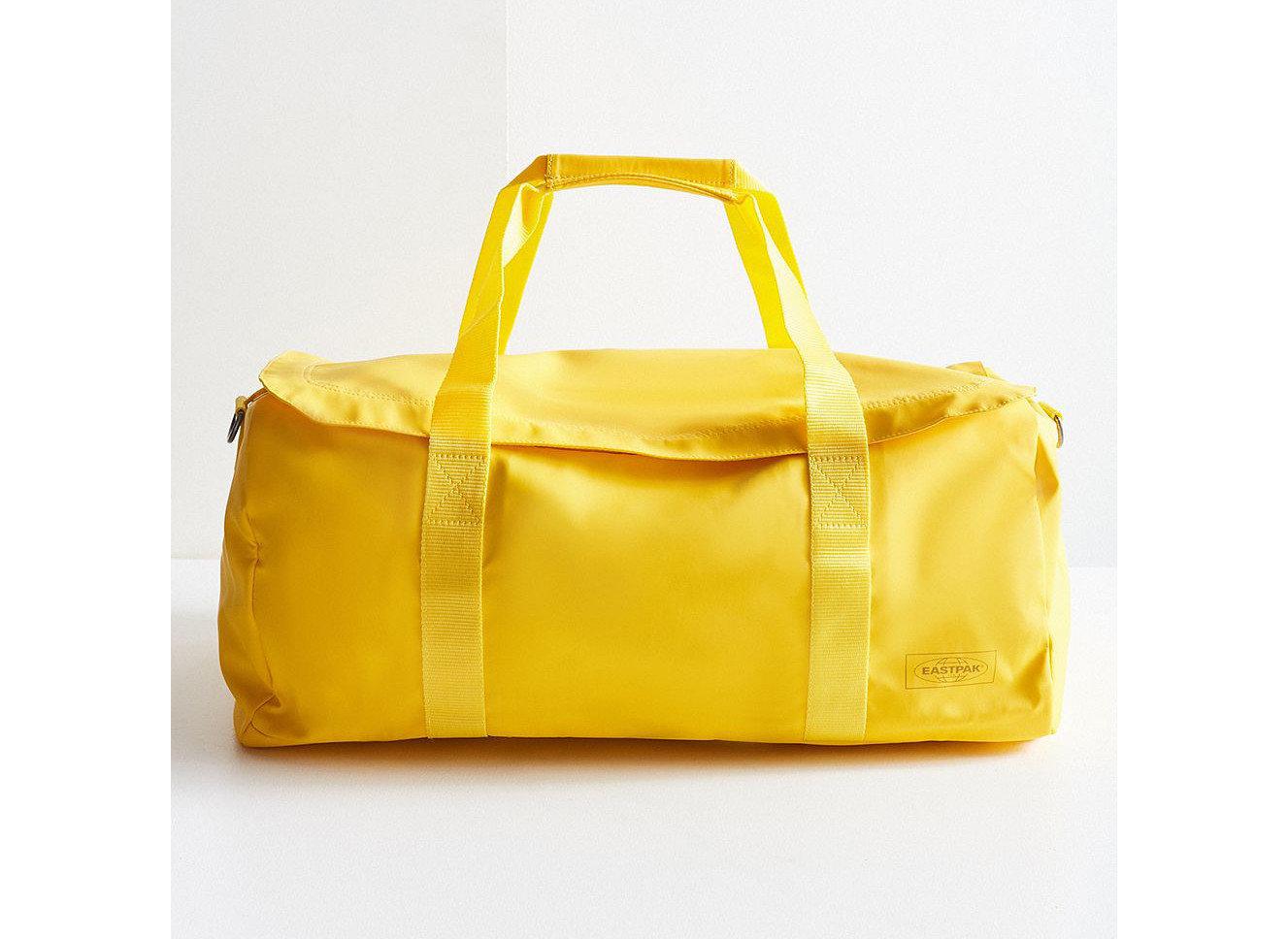 Packing Tips Style + Design Travel Shop bag yellow shoulder bag handbag product beige caramel color product design leather