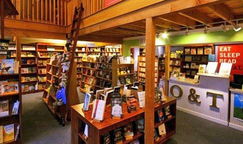 Road Trips Trip Ideas indoor library floor shelf bookselling ceiling scene building liquor store grocery store room retail store several Shop