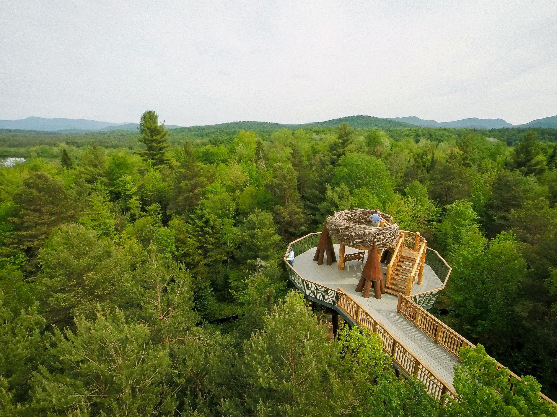 Trip Ideas tree outdoor wilderness ecosystem hill Forest mountain transport mountain range reservoir lush Boat