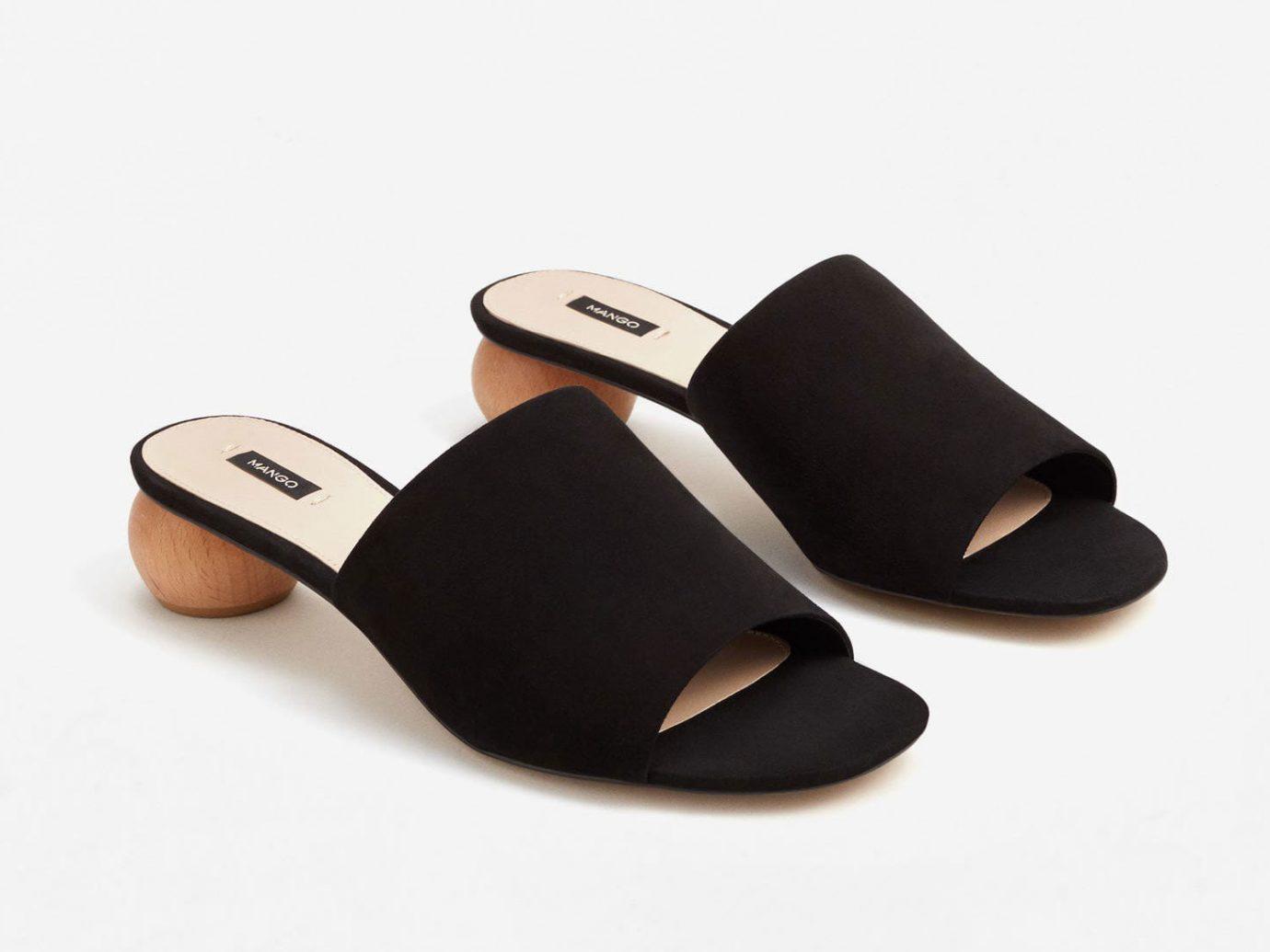 Style + Design footwear shoe black leg leather slipper arm brand outdoor shoe human body mouse