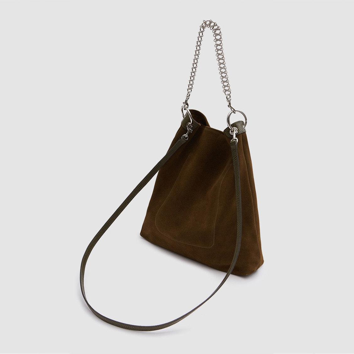 Trip Ideas bag shoulder bag handbag brown leather product accessory product design scale brand beige locket