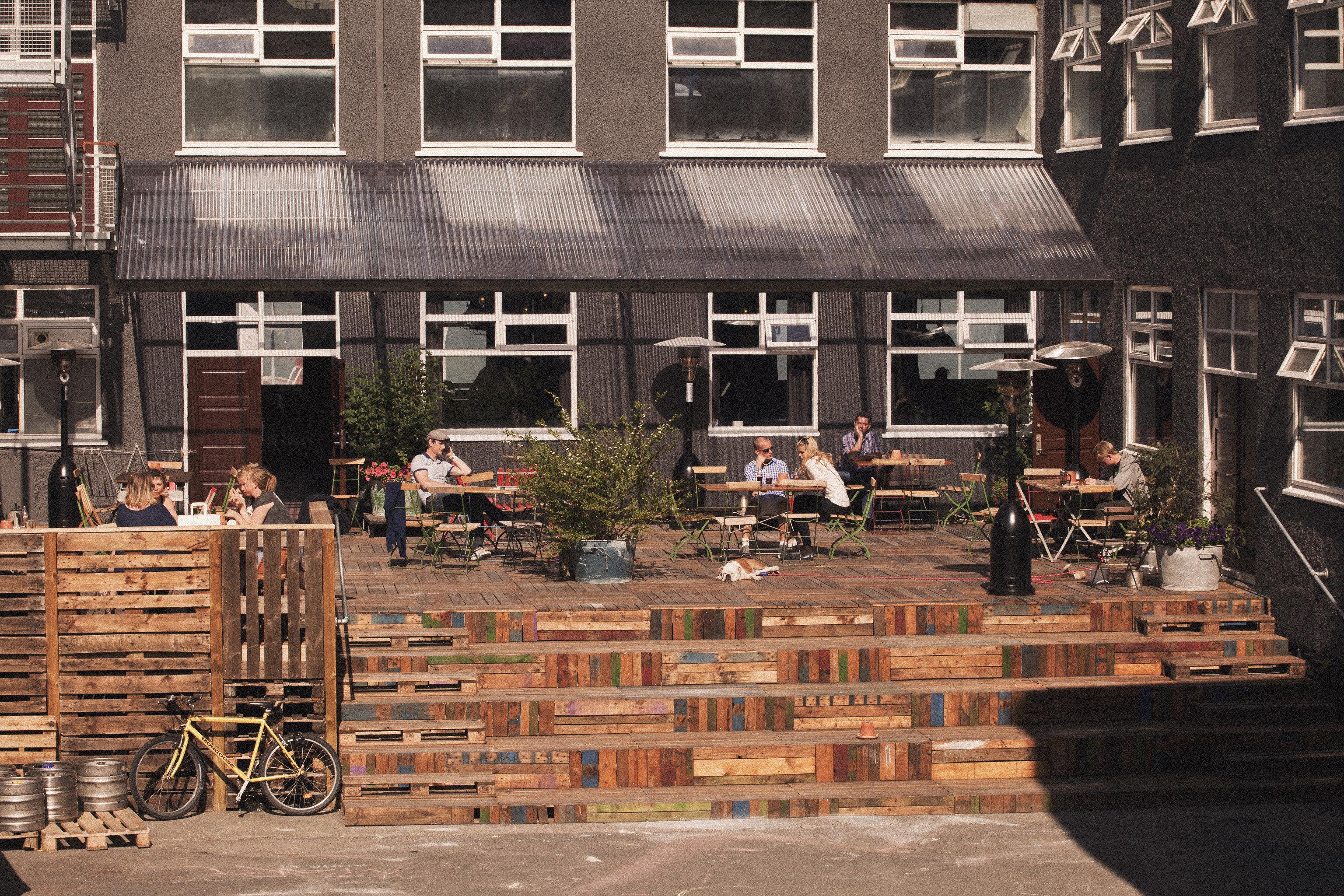 Boutique Hotels Hotels Iceland Reykjavík building outdoor urban area Architecture wood interior design