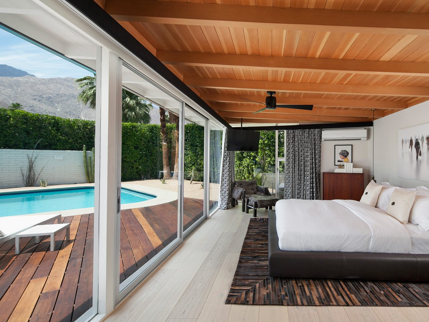 Hotels Romance bed property ceiling Architecture real estate estate interior design house window home wood roof outdoor structure platform daylighting Patio floor penthouse apartment Villa