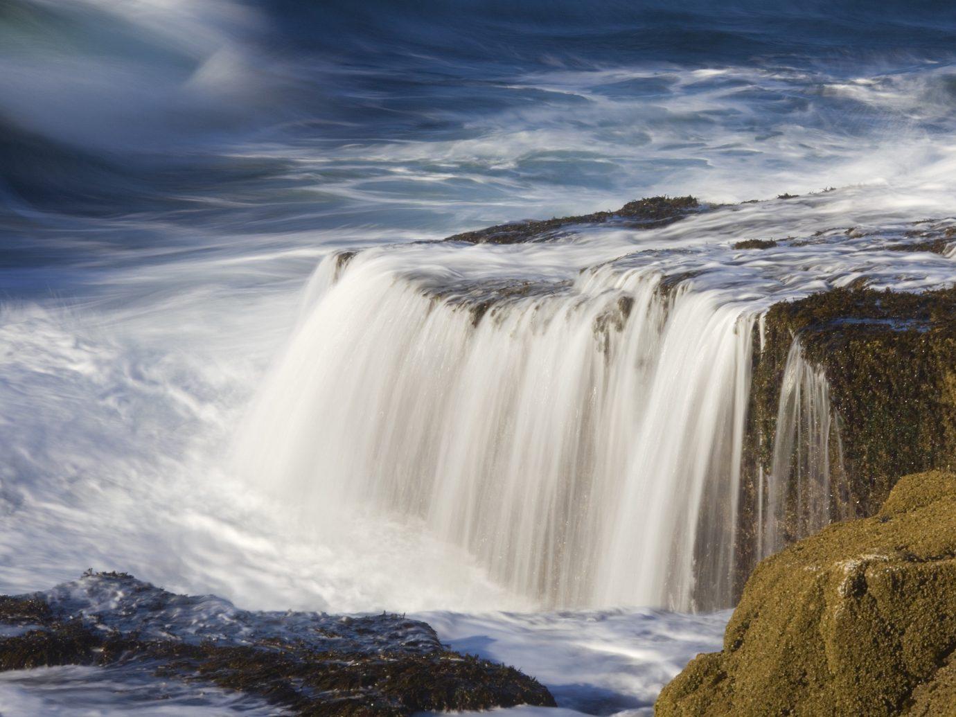 Acadia National Park, Maine Waterfall