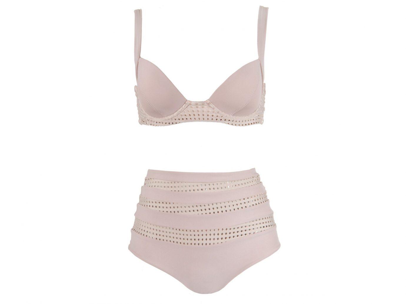 Style + Design clothing undergarment active undergarment lingerie brassiere pink briefs underpants maillot product swimwear lingerie top textile abdomen beige pattern