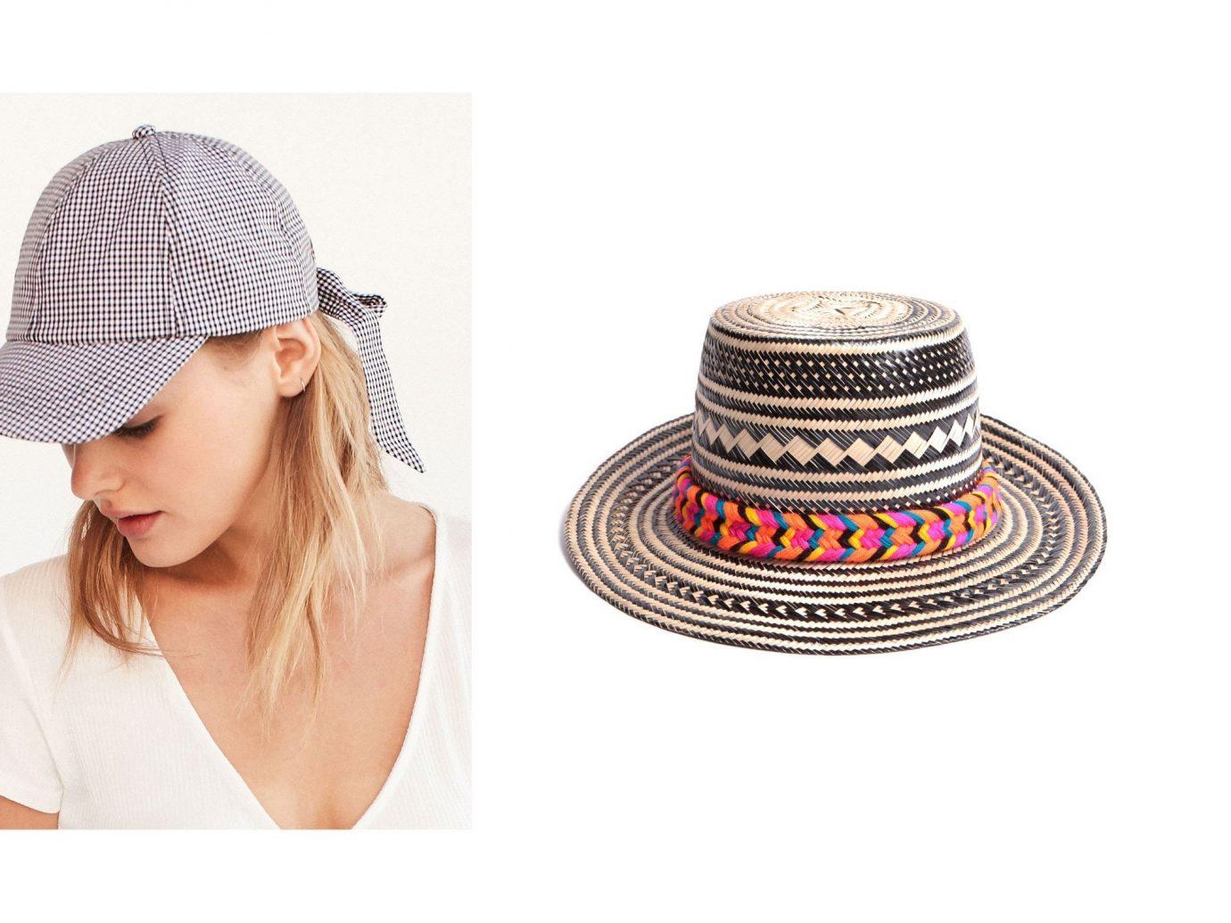 Style + Design person woman clothing fashion accessory hat cap headgear brand fedora sun hat