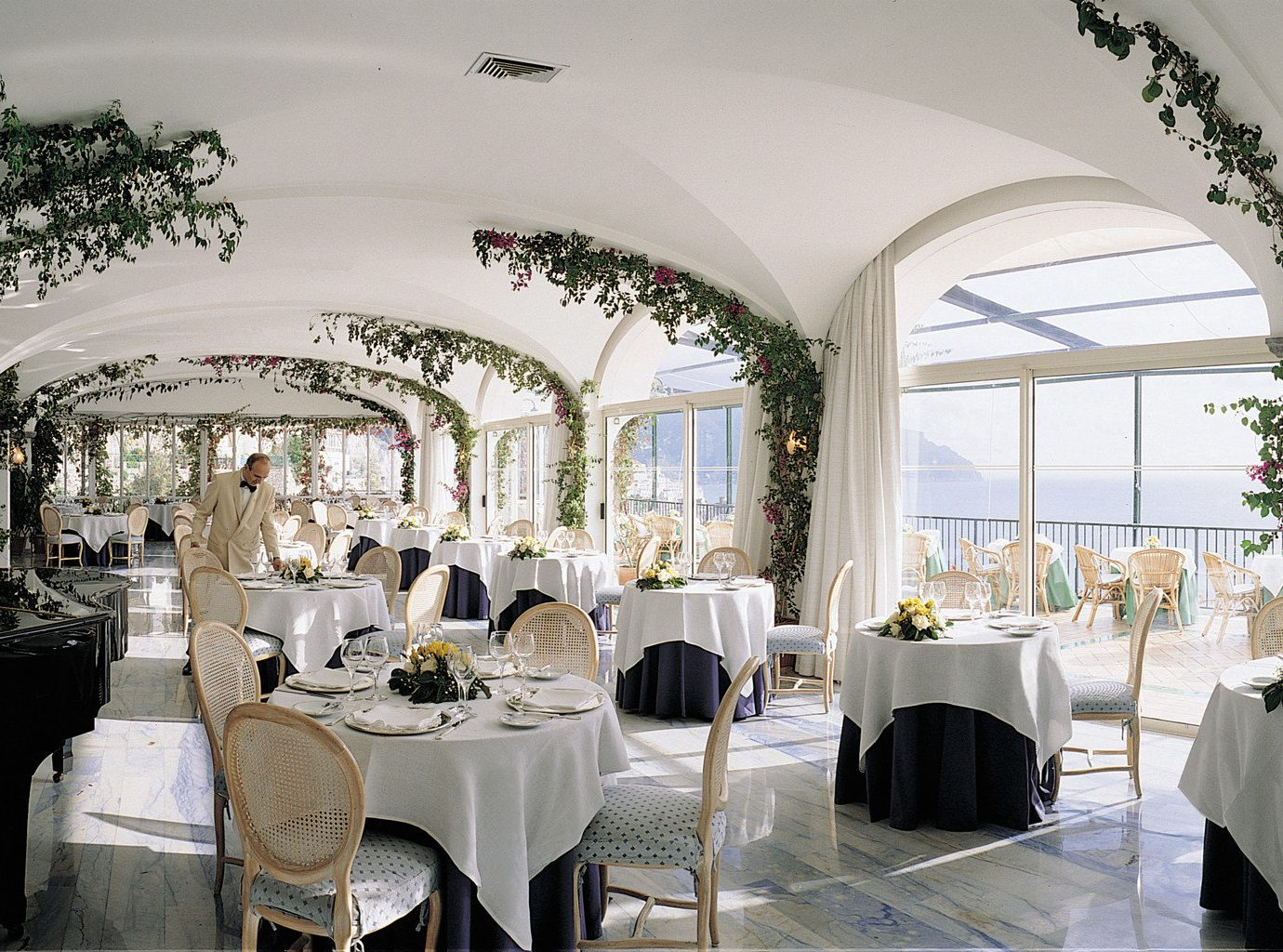 Restaurant at Hotel Santa Caterina, Amalfi