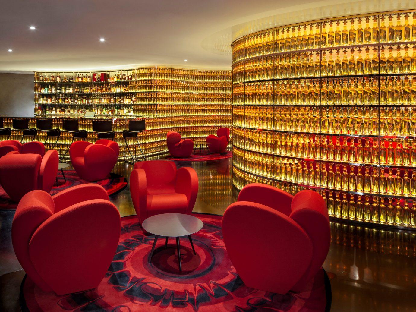 Hotels Weekend Getaways indoor red chair interior design