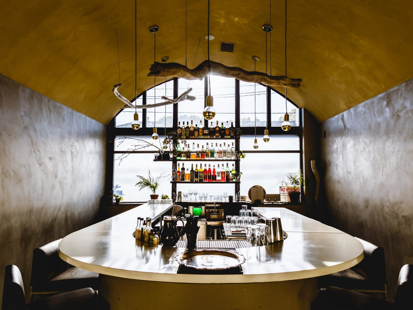 Food + Drink Portland, Oregon Trip Ideas interior design Architecture table house ceiling