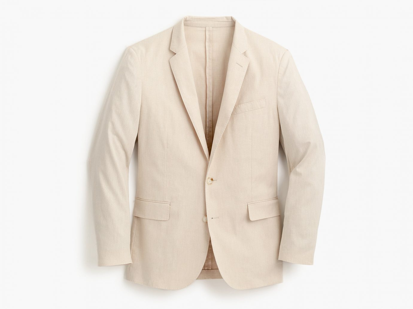 clothing man blazer suit jacket outerwear wearing beige button posing coat tan