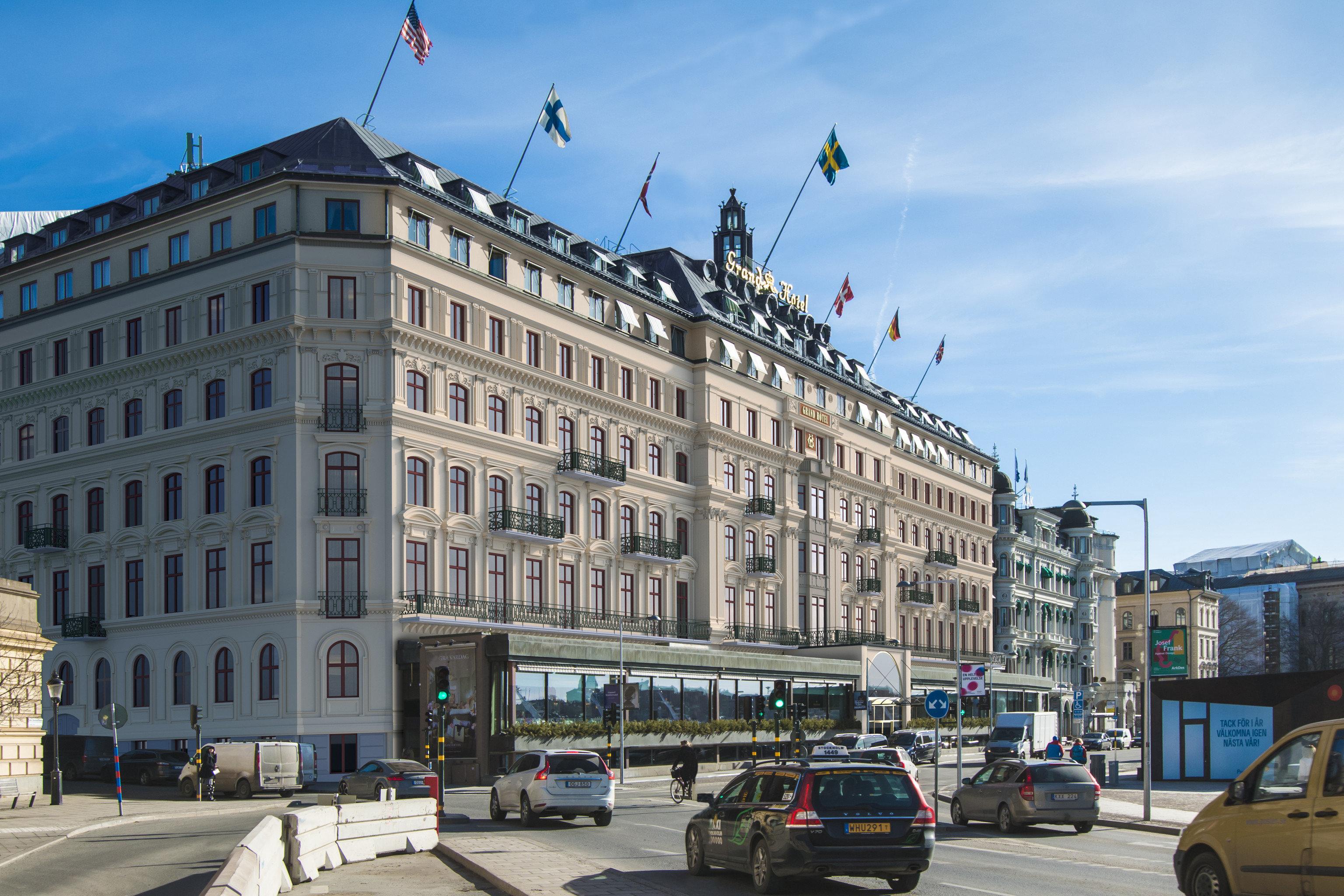 Hotels Stockholm Sweden Outdoor Building Sky Road Street City Landmark Town Urban Area Metropolis Metropolitan