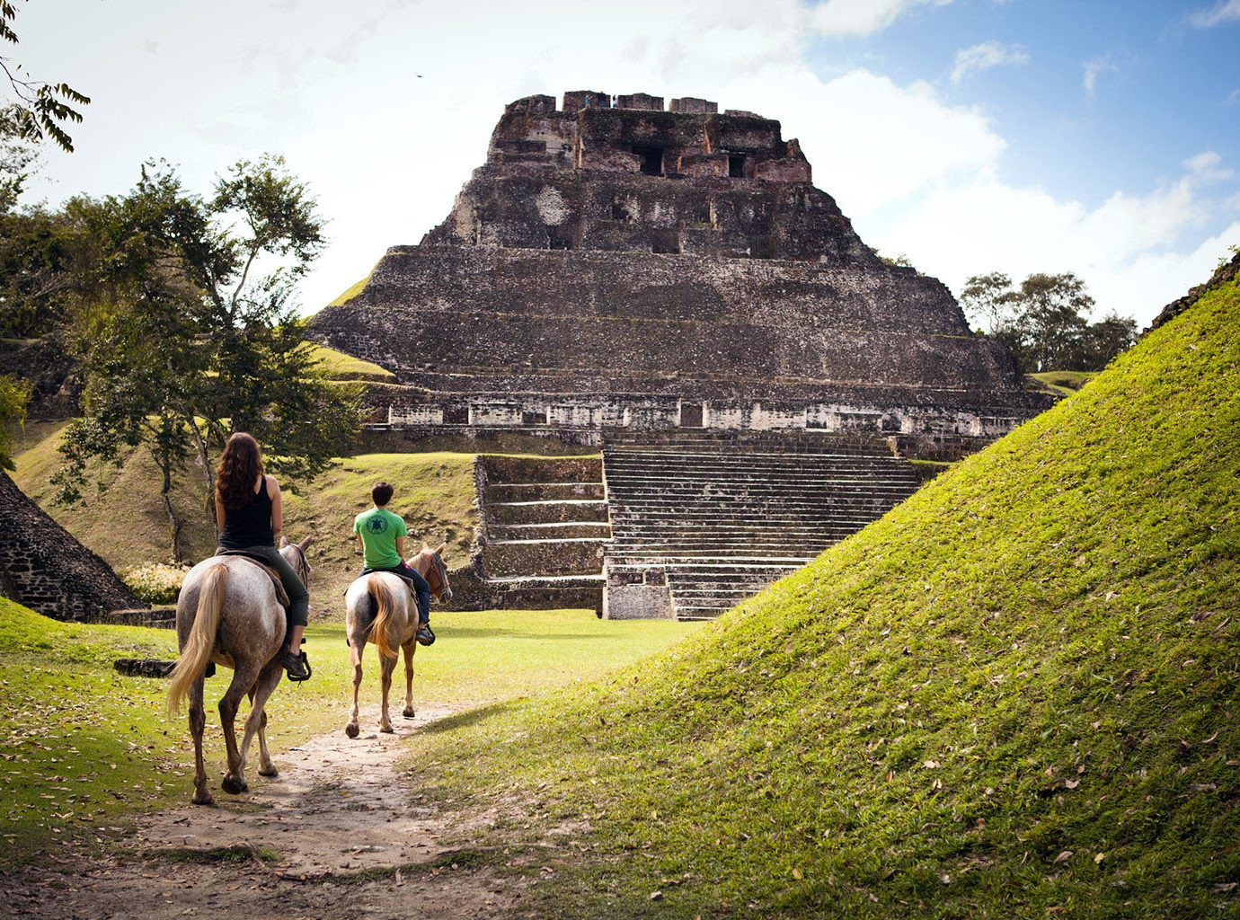 Horseback Riding In Xunantunich, Cayo, Belize
