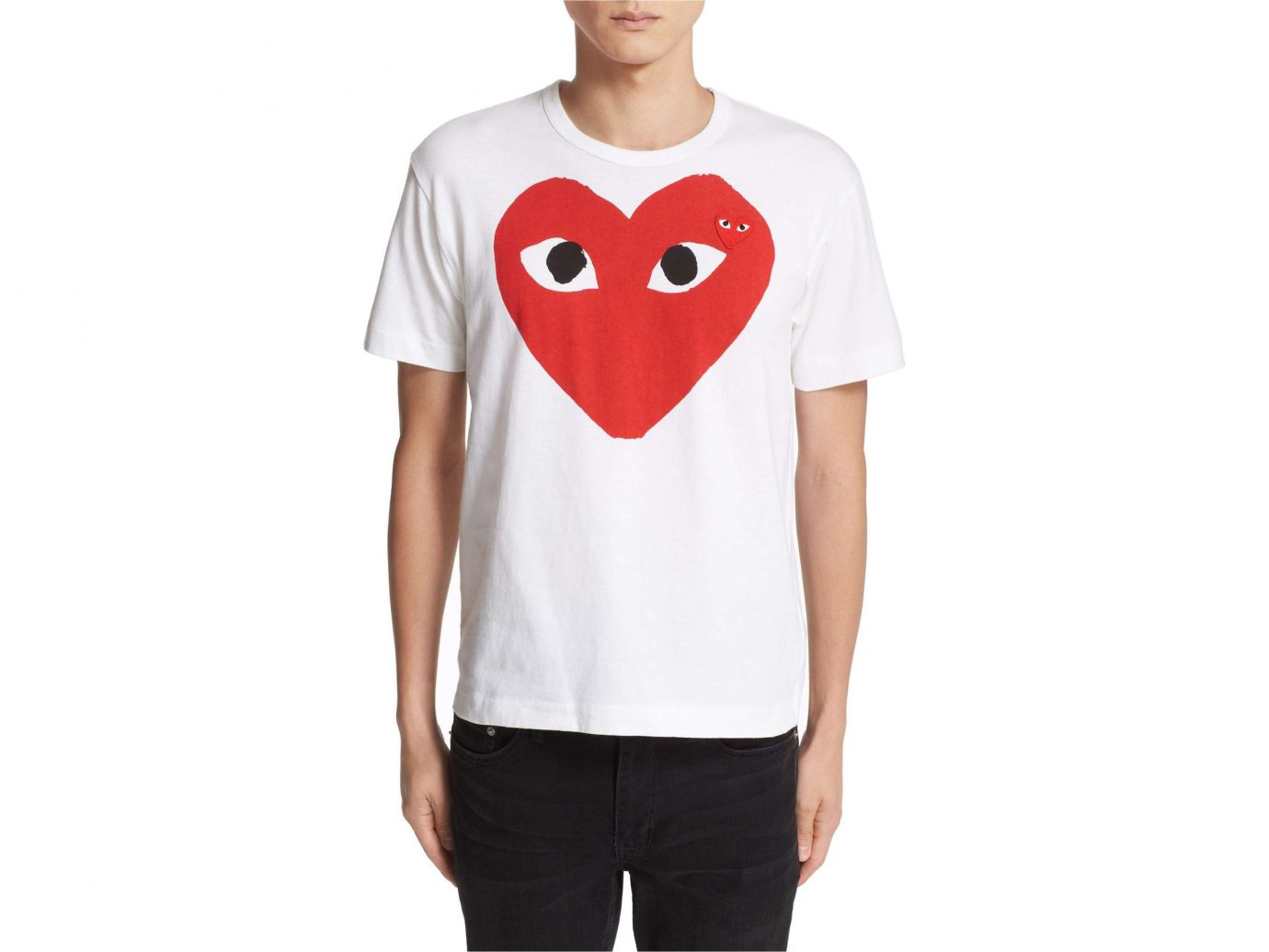 Gift Guides Travel Shop person clothing white t shirt sleeve shoulder standing organ neck smile joint top product font heart