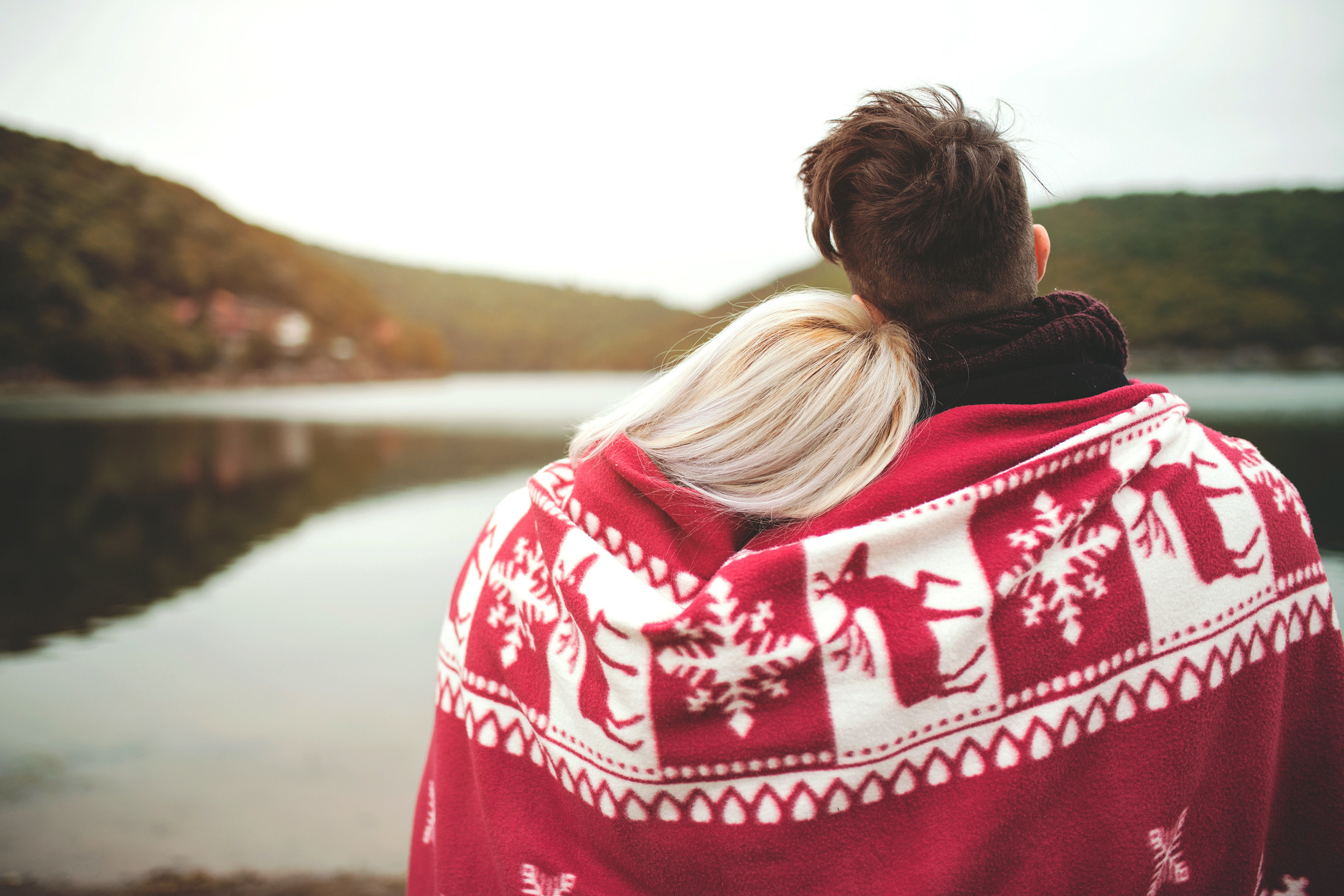couple Gift Guides Romance Travel Shop person red outdoor girl photography fun outerwear love vacation smile water