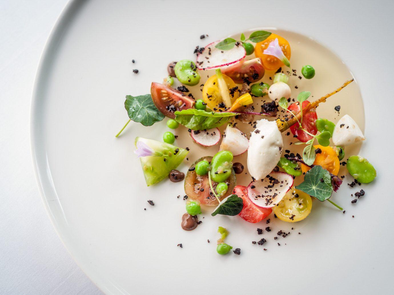 Trip Ideas plate food dish salad plant produce white cuisine vegetable fruit flowering plant meal piece de resistance
