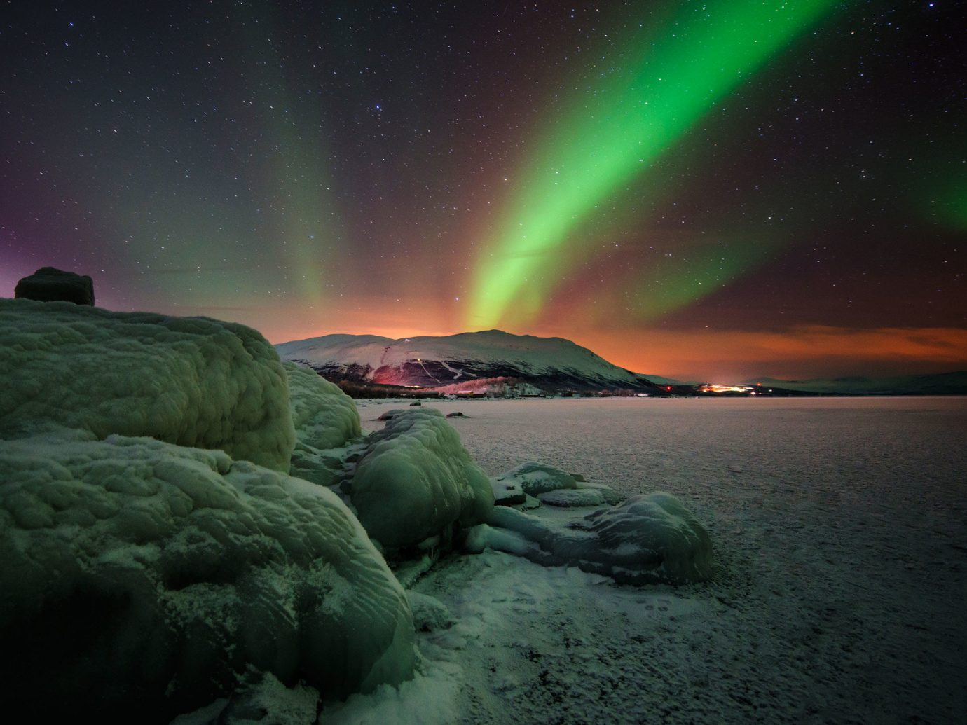 Trip Ideas aurora atmosphere light