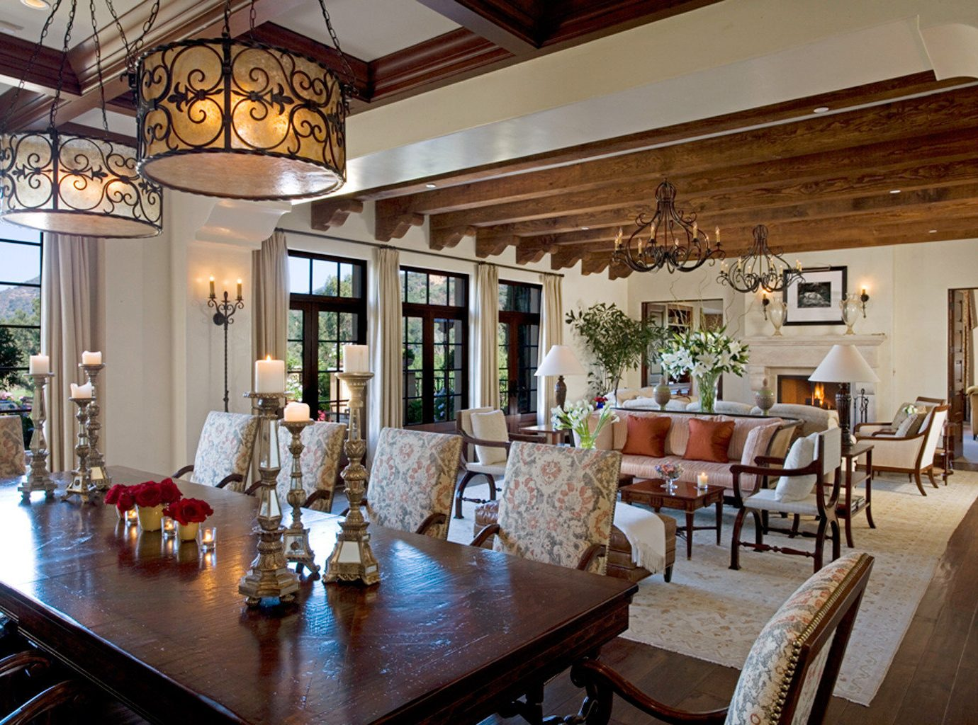 Dining Drink Eat Elegant Road Trips Trip Ideas indoor table floor room Living property estate dining room window ceiling home living room Resort restaurant interior design Villa real estate mansion Lobby cottage furniture area decorated