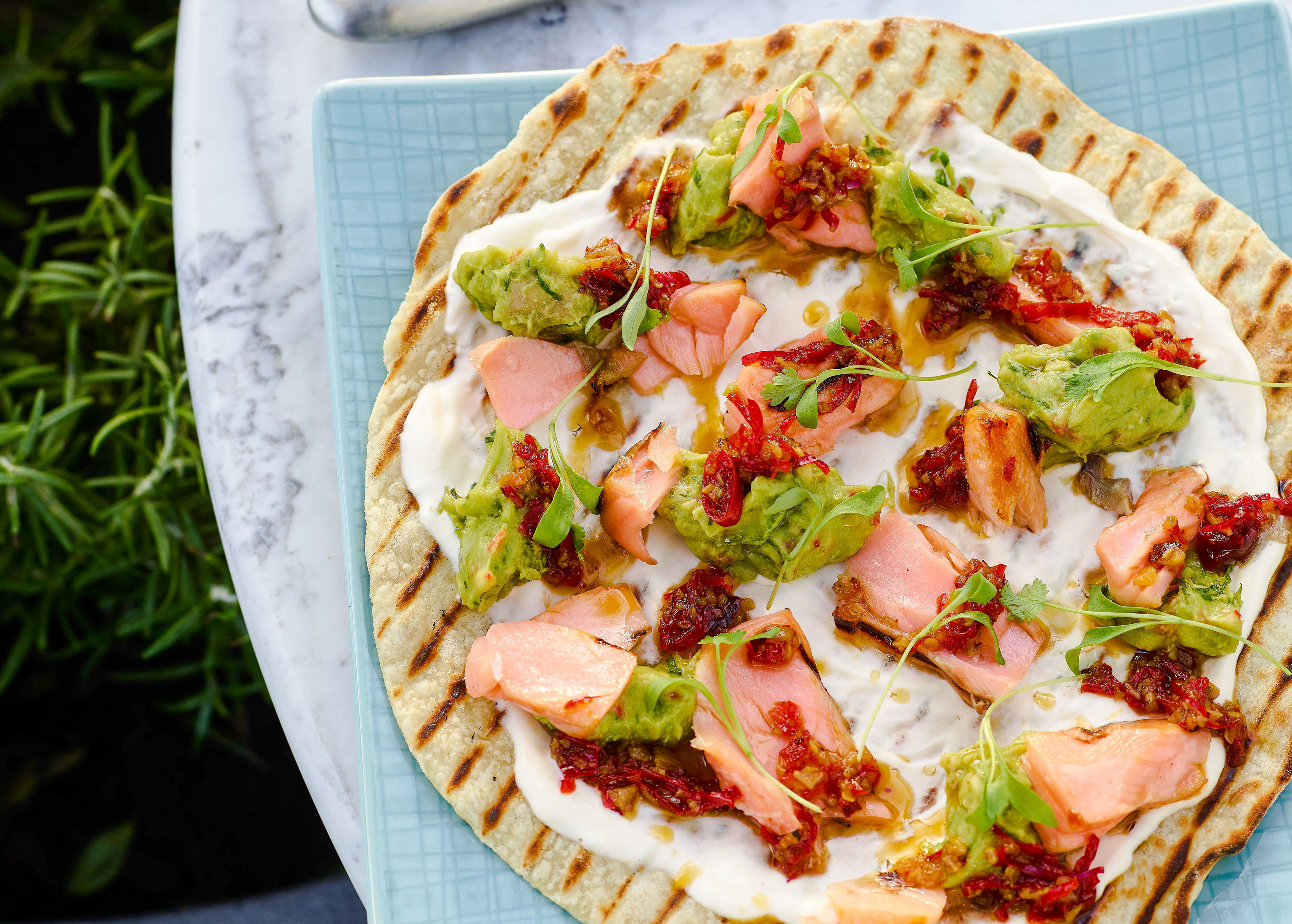Food + Drink Trip Ideas food dish cuisine tarte flambée flatbread vegetarian food italian food pizza vegetable slice european food quiche finger food california style pizza recipe baked goods leaf vegetable toppings