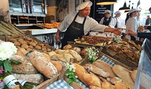 Jetsetter Guides food person local food public space marketplace meal bakery market vendor meat baked sale Shop