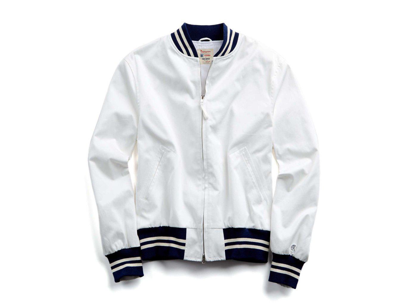 517d93153bde Todd Snyder + Champion Cotton Bomber Jacket
