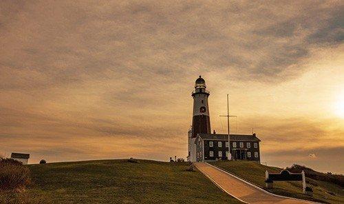 Trip Ideas sky outdoor grass tower lighthouse horizon morning dawn Sunset dusk evening Coast Sea sunrise cloudy clouds