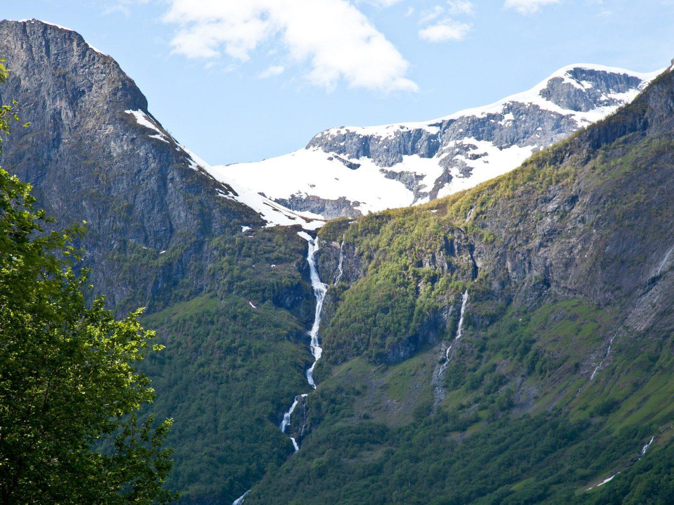 Cliffs Mountains Nature Scenic Views Trees Trip Ideas View Waterfall Waterfalls Mountain Outdoor Sky Mountainous Landforms