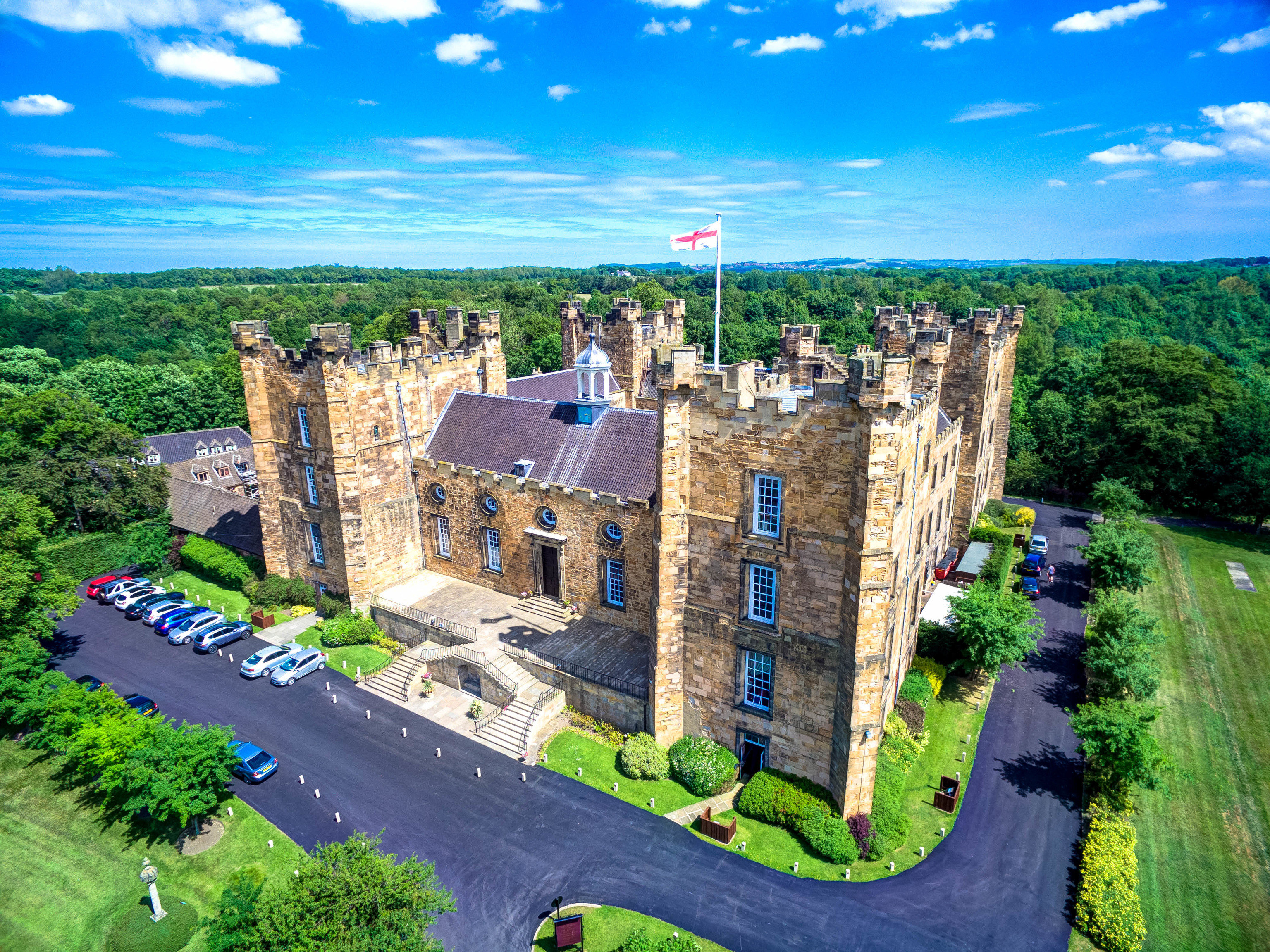 Hotels sky grass outdoor historic site landmark archaeological site castle building estate Ruins tourism fortification vacation château aerial photography canyon mansion terrain