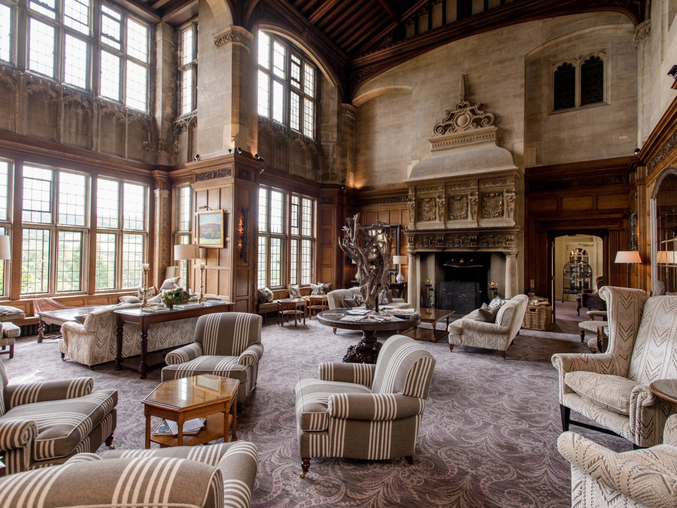 Romance Trip Ideas Weekend Getaways Living sofa room window property estate building furniture living room home interior design mansion palace wood Lobby decorated