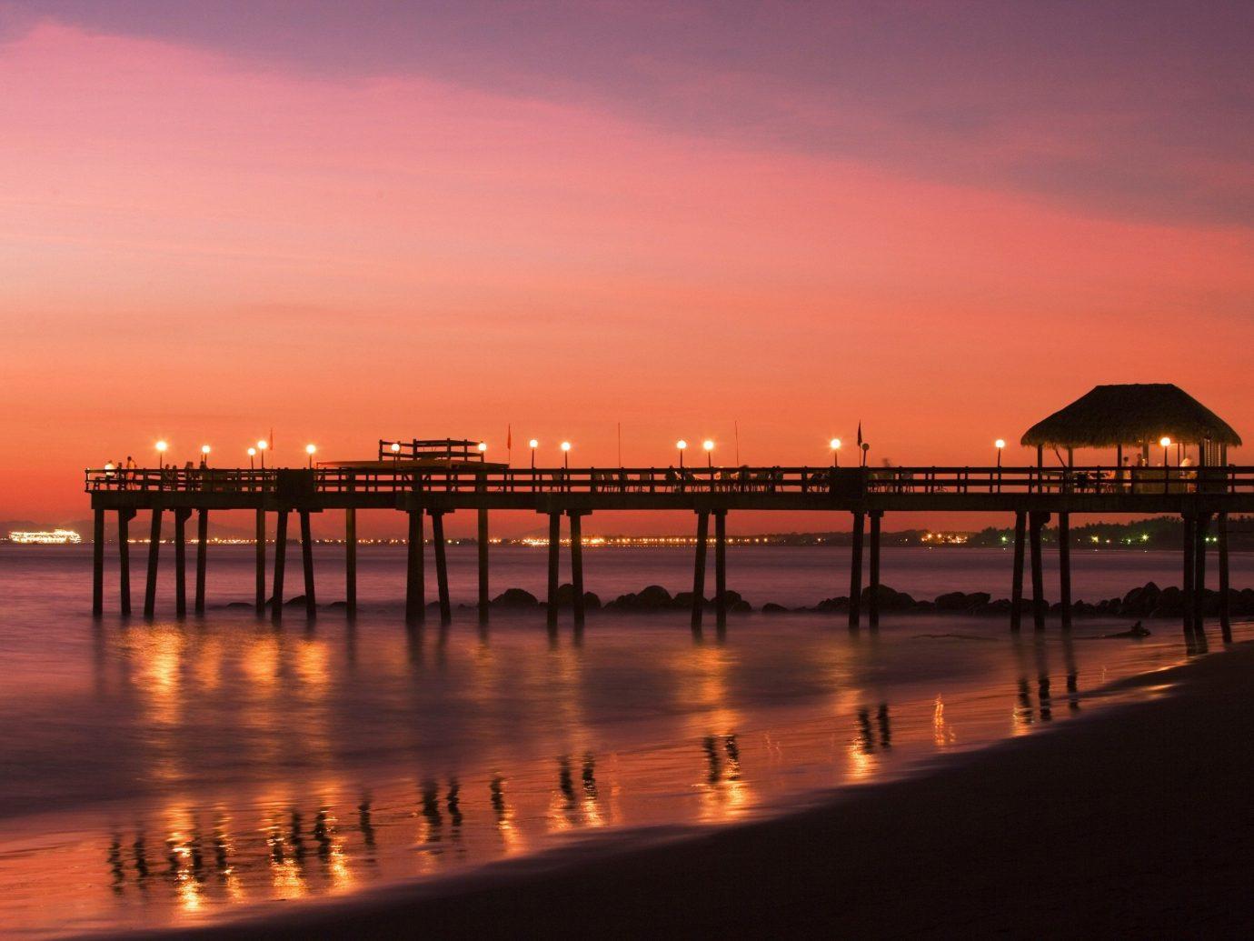Sunset at Fiesta Resort All Inclusive Costa Rica